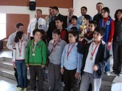 2-Kademe Takım Birinciliği Ödül Töreni